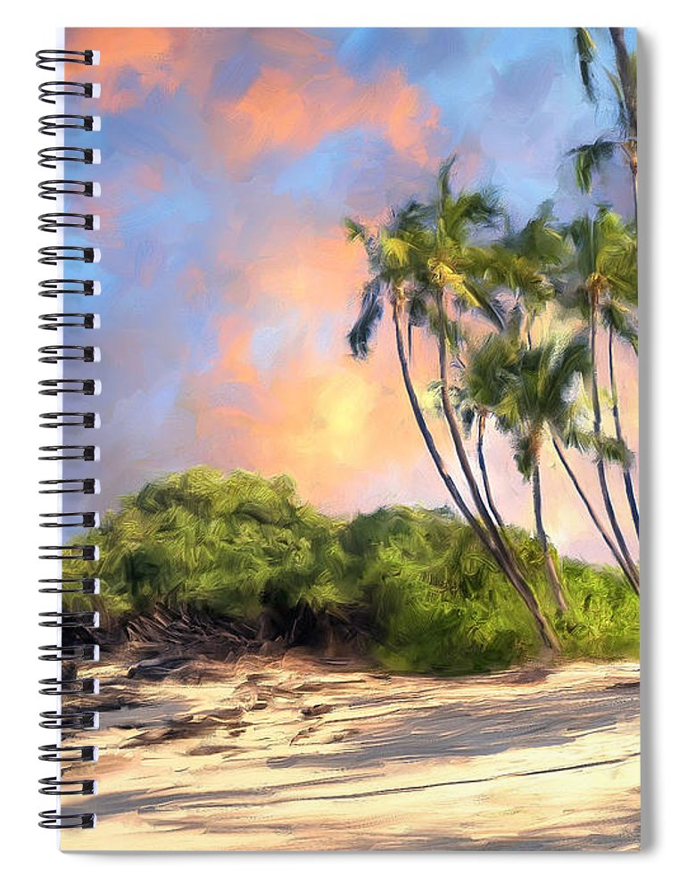 Perfect Moment Spiral Notebook featuring the painting Perfect Moment by Dominic Piperata