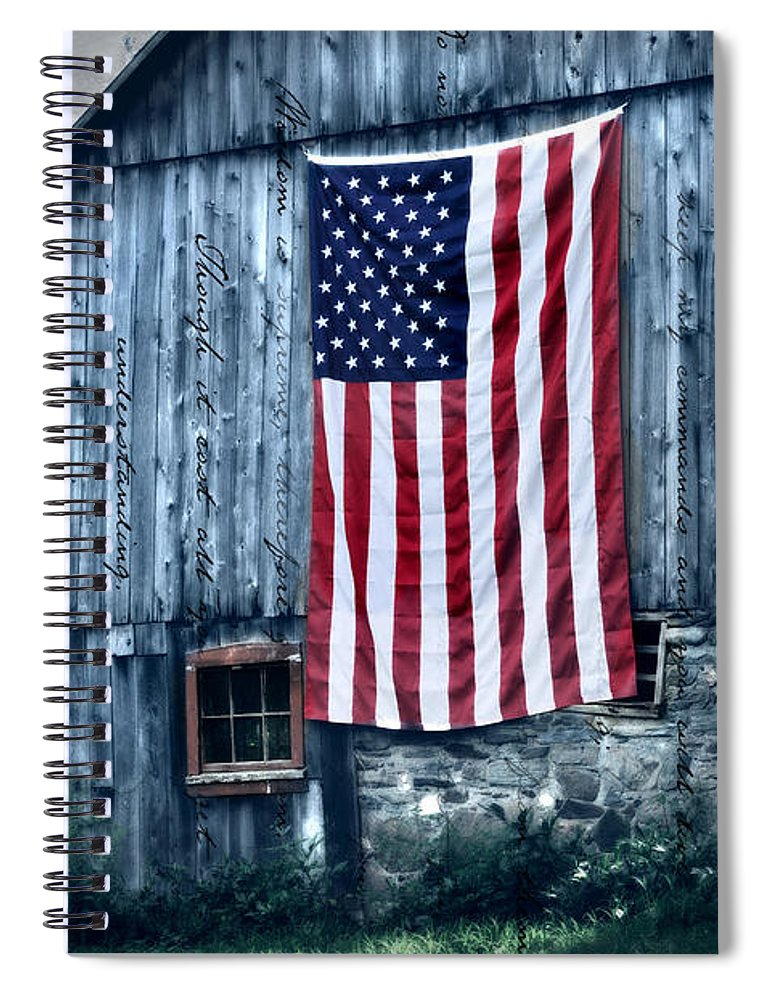 Old Spiral Notebook featuring the photograph Pride by T-S Photo Art