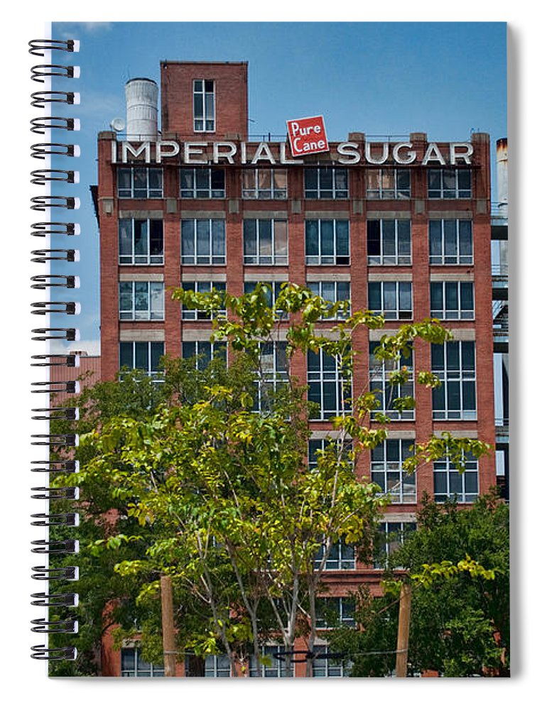 Wright Spiral Notebook featuring the photograph Pure Cane by Paulette B Wright