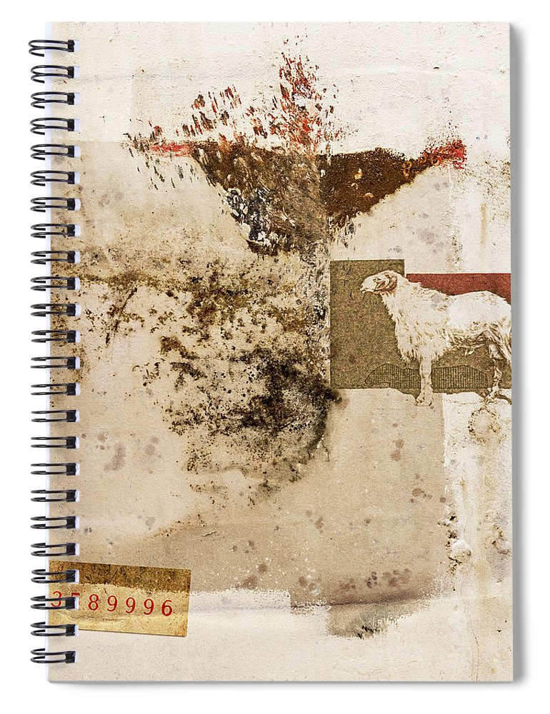 Ram Spiral Notebook featuring the photograph Ram Number 3589996 by Carol Leigh