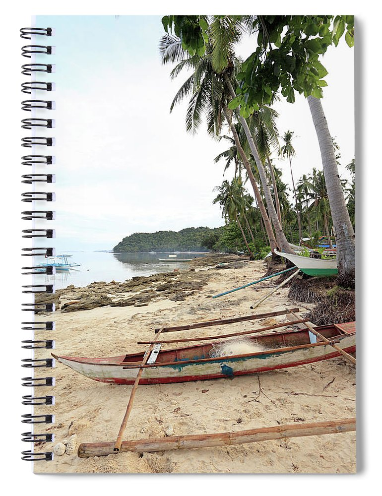 Water's Edge Spiral Notebook featuring the photograph Ready To Fishing by Vuk8691