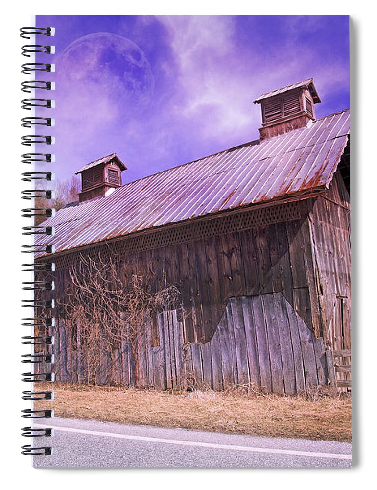 Full Spiral Notebook featuring the photograph Respect Your Elders by Betsy Knapp