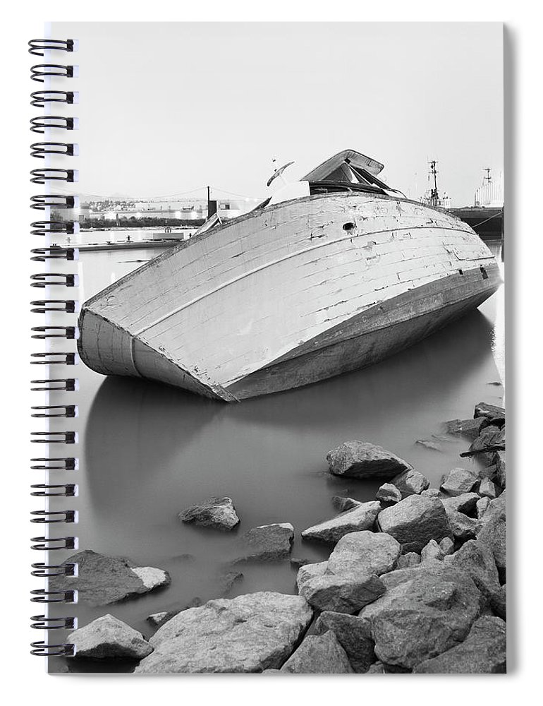 Tranquility Spiral Notebook featuring the photograph Richmond, British Columbia, Canada by Brian Caissie
