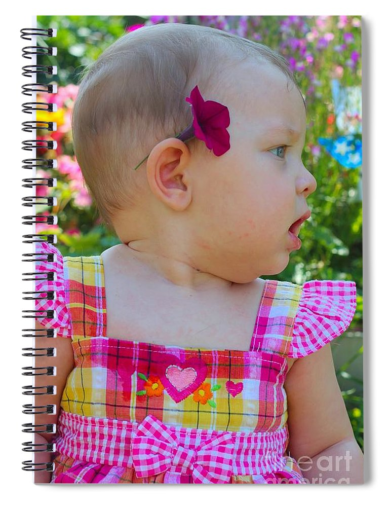 Sarah Spiral Notebook featuring the photograph Sarah_3943 by Joseph Marquis