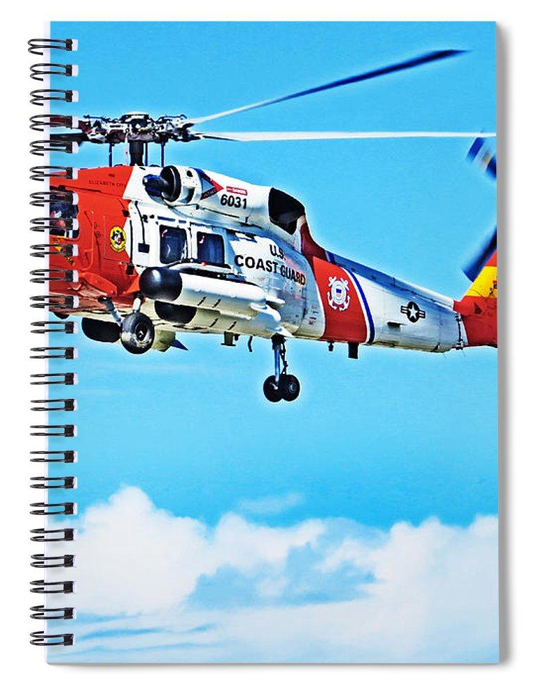 Sikorsky Mh-60 Jayhawk Spiral Notebook