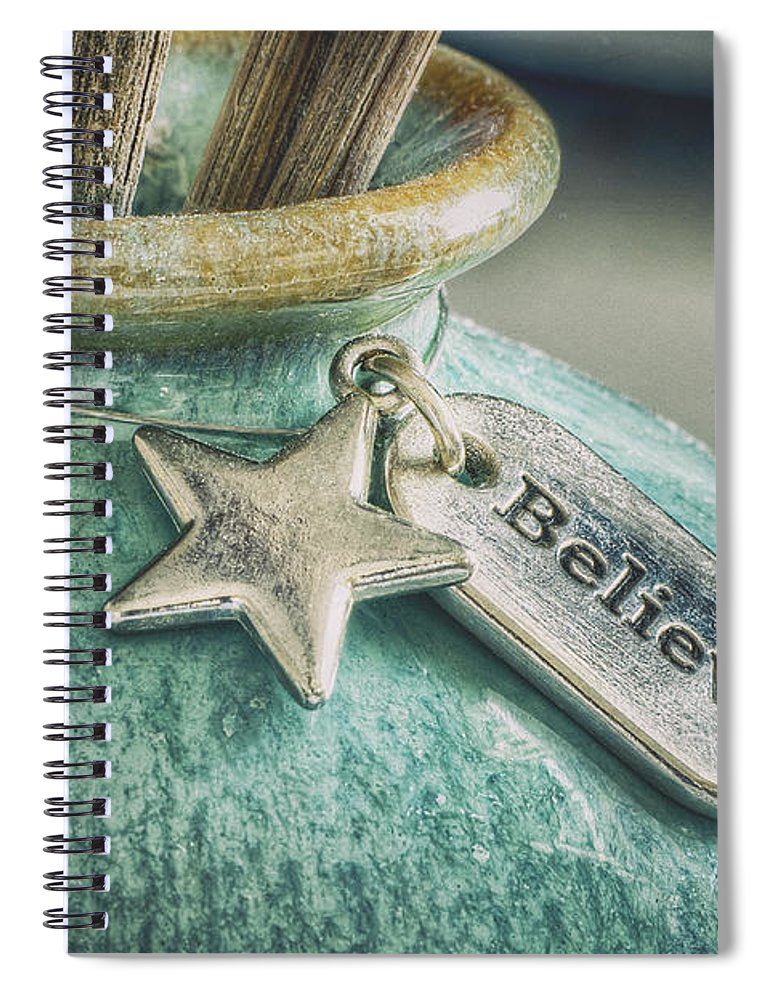 Believe Spiral Notebook featuring the photograph Something To Believe In by Scott Norris