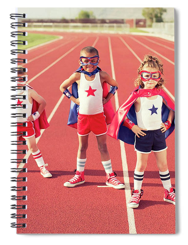 4-5 Years Spiral Notebook featuring the photograph Speed Training by Richvintage