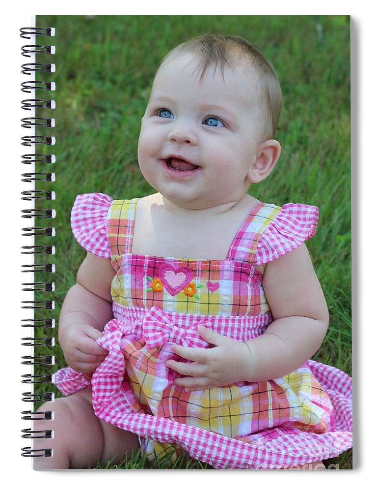 Sarah Spiral Notebook featuring the photograph Srah_3893 by Joseph Marquis