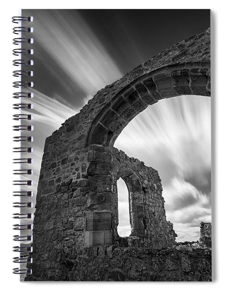 St Dwynwen's Church Spiral Notebook featuring the photograph St Dwynwen's Church by Dave Bowman