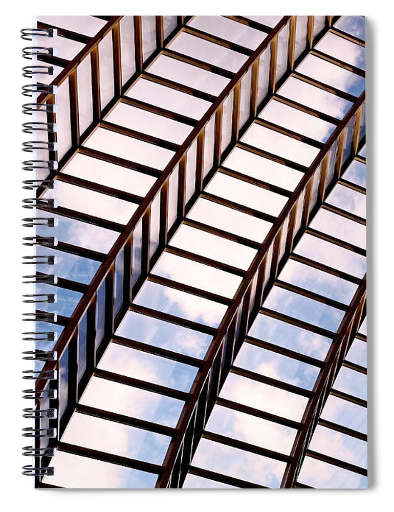 Abstract Spiral Notebook featuring the photograph Stairway To Heaven by Rona Black