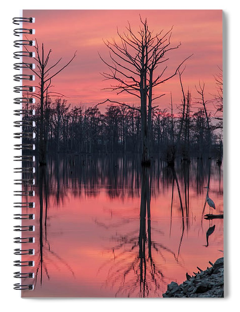 Outdoors Spiral Notebook featuring the photograph Standing Guard by Larrybraunphotography.com