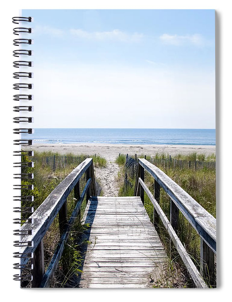 ddc37afc4 Strathmere New Jersey Spiral Notebook for Sale by Bill Cannon