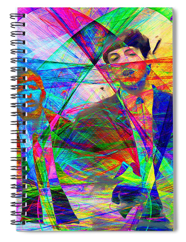 Wingsdomain Spiral Notebook featuring the photograph Strawberry Fields Forever 20130615 by Wingsdomain Art and Photography