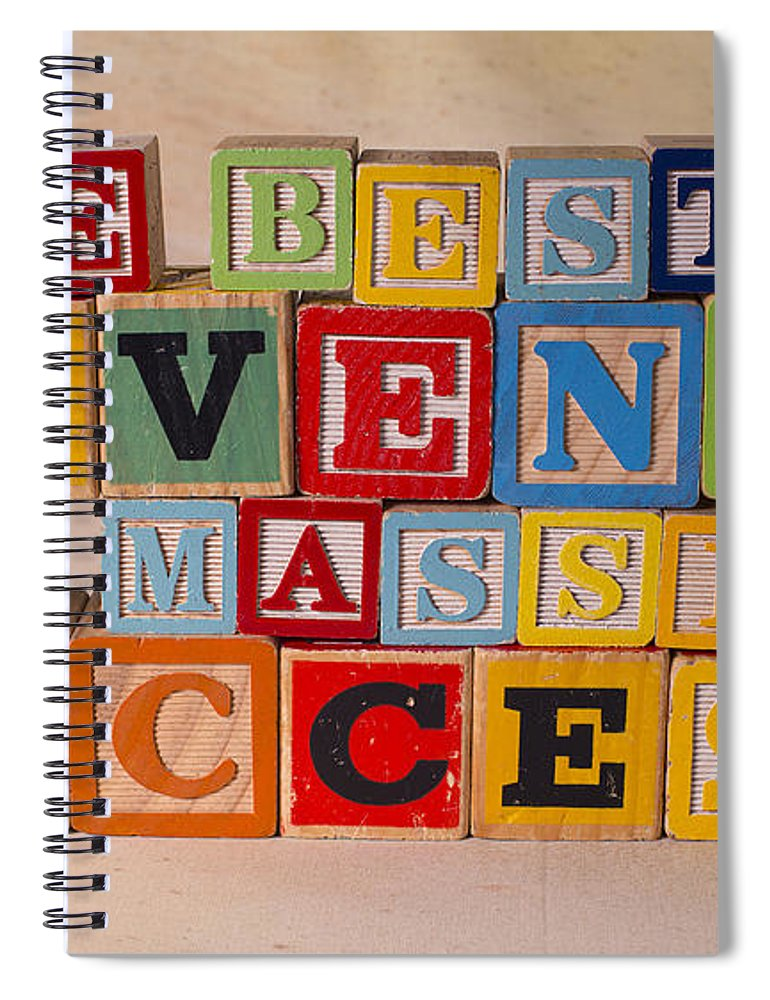 The Best Revenge Is Massive Success Spiral Notebook featuring the photograph The Best Revenge Is Massive Success by Art Whitton