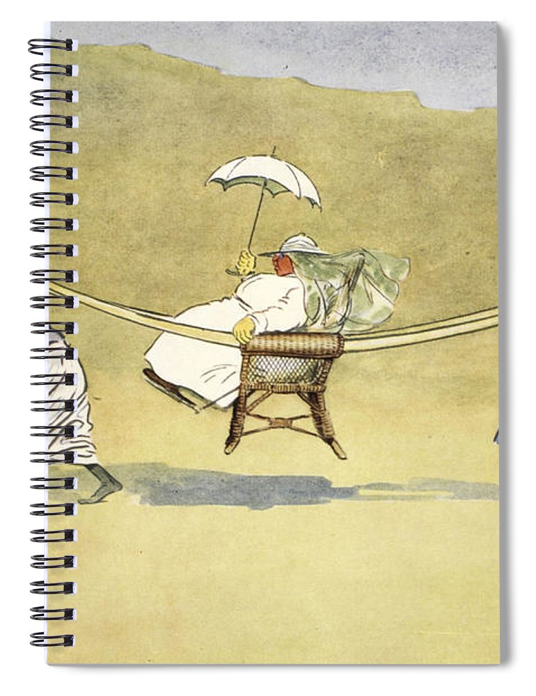 Sedan Spiral Notebook featuring the drawing The Transit Of Venus, From The Light by Lance Thackeray