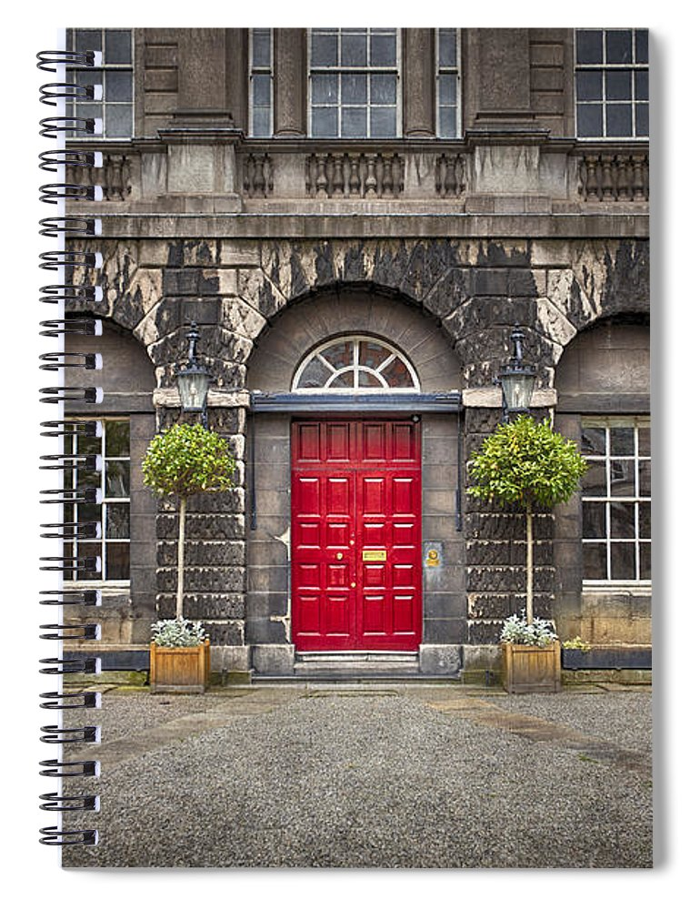 Dublin Spiral Notebook featuring the photograph Time After Time by Evelina Kremsdorf