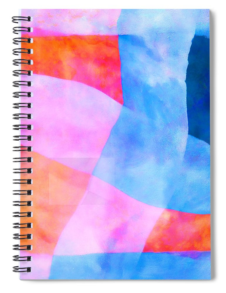 Translucent Spiral Notebook featuring the photograph Translucence Number 2 by Carol Leigh