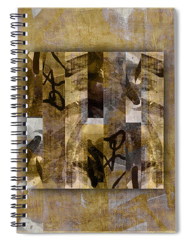 Tropical Spiral Notebook featuring the photograph Tropical Panel Number One by Carol Leigh