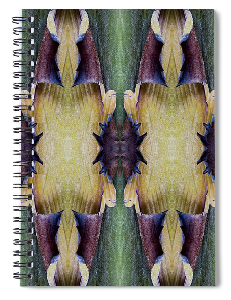 Tropical Spiral Notebook featuring the photograph Tropical Two by Carol Leigh