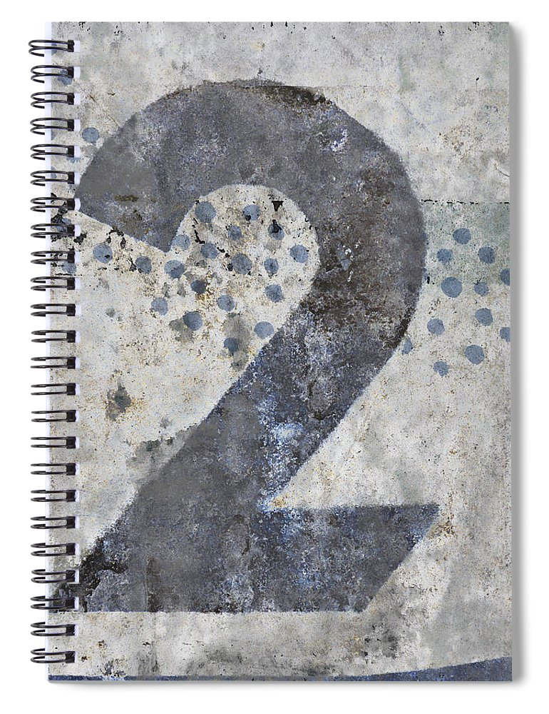 Two Spiral Notebook featuring the photograph Two Swimming by Carol Leigh