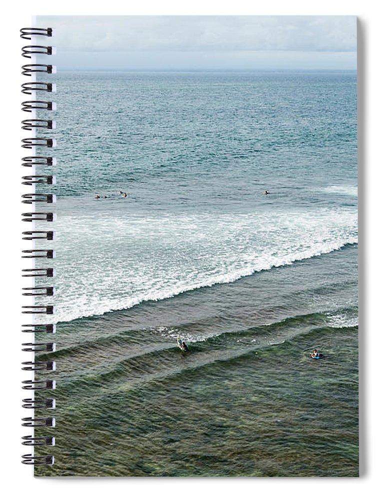 Tranquility Spiral Notebook featuring the photograph Uluwatu, Bali by John Harper