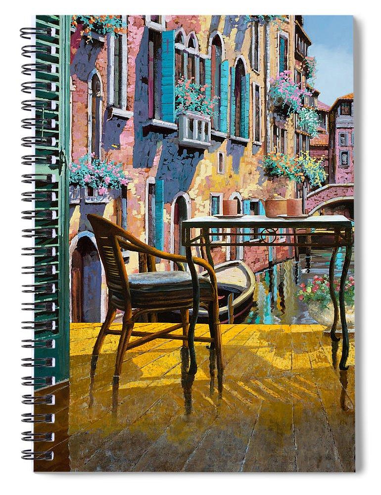 Un Soggiorno A Venezia Spiral Notebook for Sale by Guido Borelli