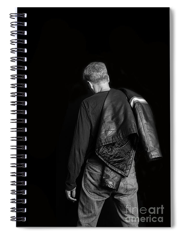 Self Spiral Notebook featuring the photograph Untitled by Edward Fielding
