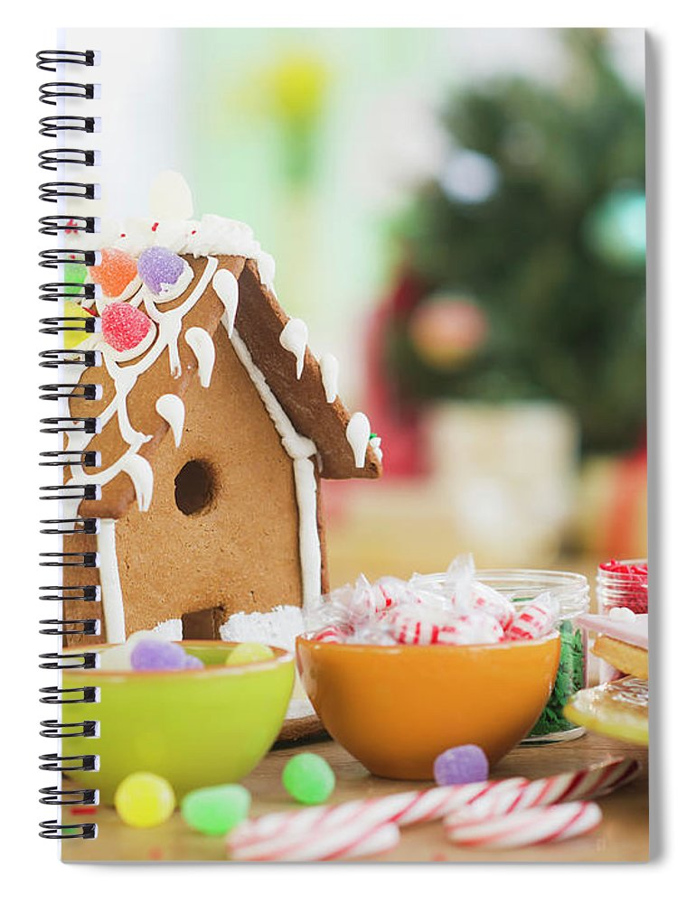Christmas Ornament Spiral Notebook featuring the photograph Usa, New Jersey, Jersey City by Tetra Images - Daniel Grill