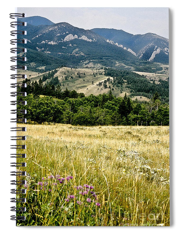 Wilderness Spiral Notebook featuring the photograph Washake Wilderness by Kathy McClure