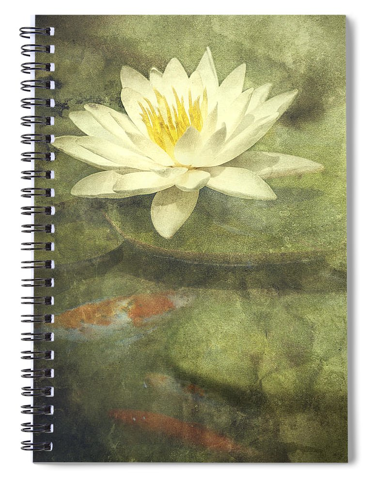 Water Lily Spiral Notebook featuring the photograph Water Lily by Scott Norris