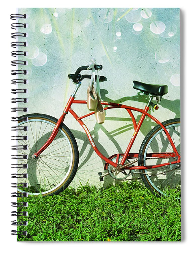 Laura Fasulo Spiral Notebook featuring the photograph Weekender Special by Laura Fasulo