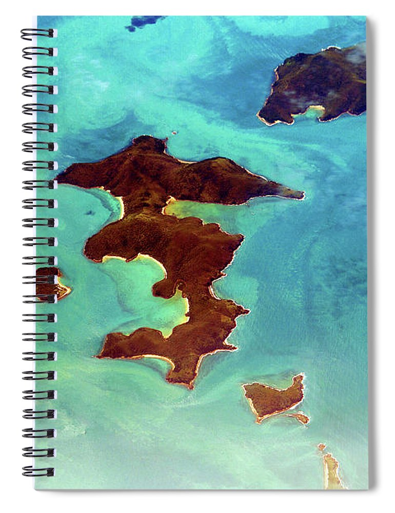 Scenics Spiral Notebook featuring the photograph Whitsunday Islands by Photography By Mangiwau
