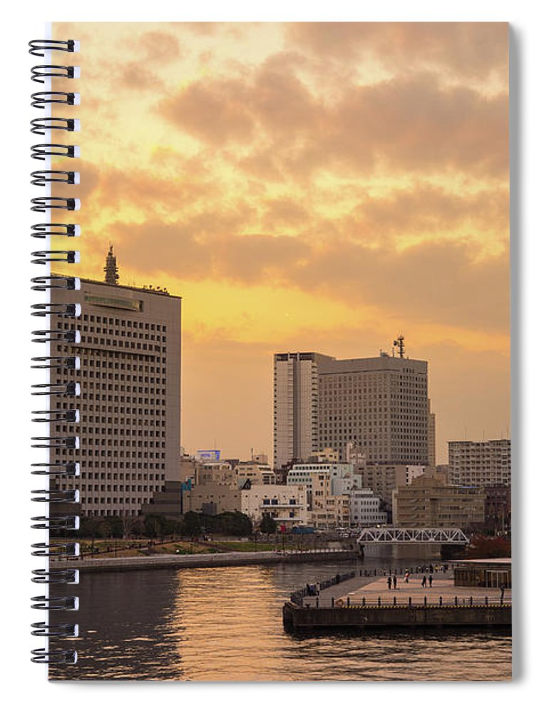 Tranquility Spiral Notebook featuring the photograph Yokohama by I Like Camera And Life
