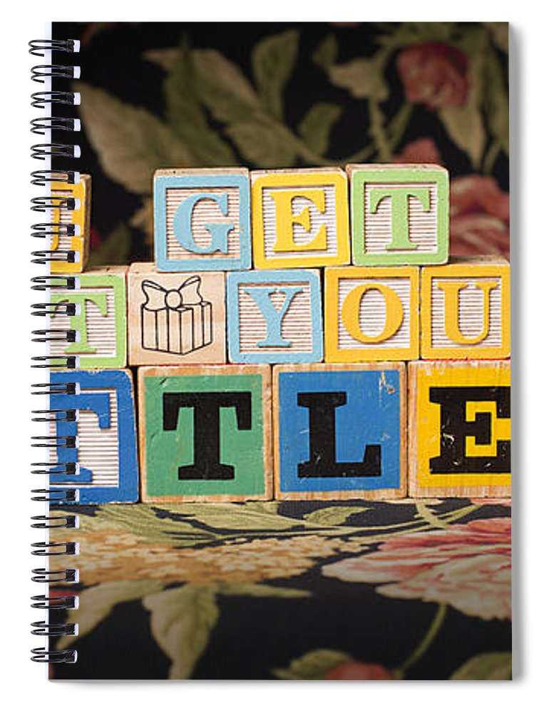 You Get What You Settle For Spiral Notebook featuring the photograph You Get What You Settle For by Art Whitton