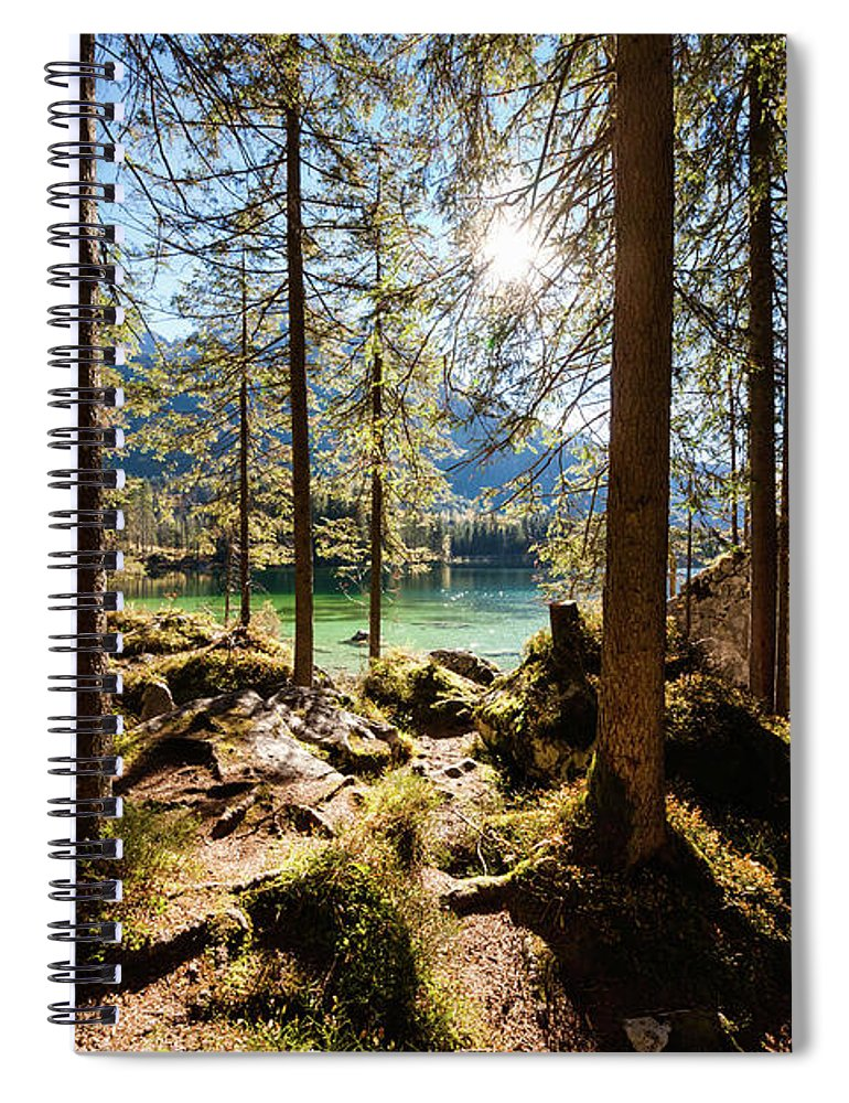 Tranquility Spiral Notebook featuring the photograph Zauberwald In Autumn by Jorg Greuel
