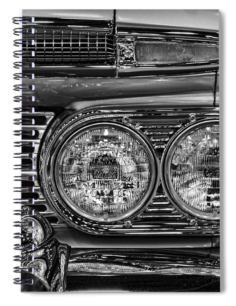 1959 Spiral Notebook featuring the photograph 1959 Chevrolet El Camino by Gordon Dean II