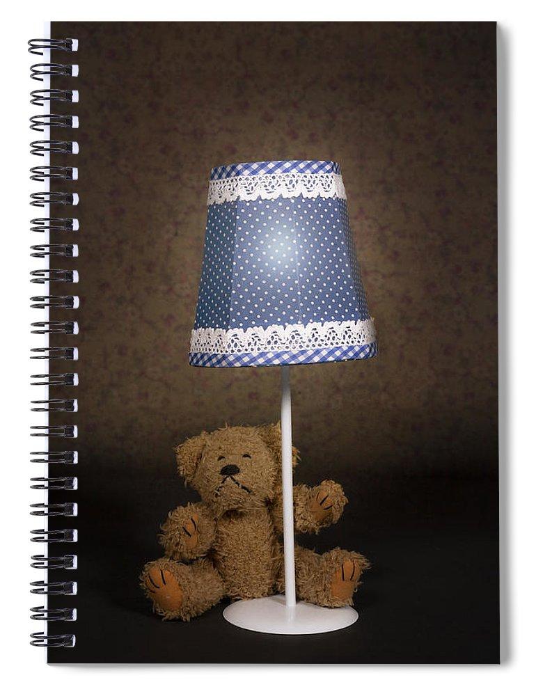 Teddy Spiral Notebook featuring the photograph Teddy Bear by Joana Kruse