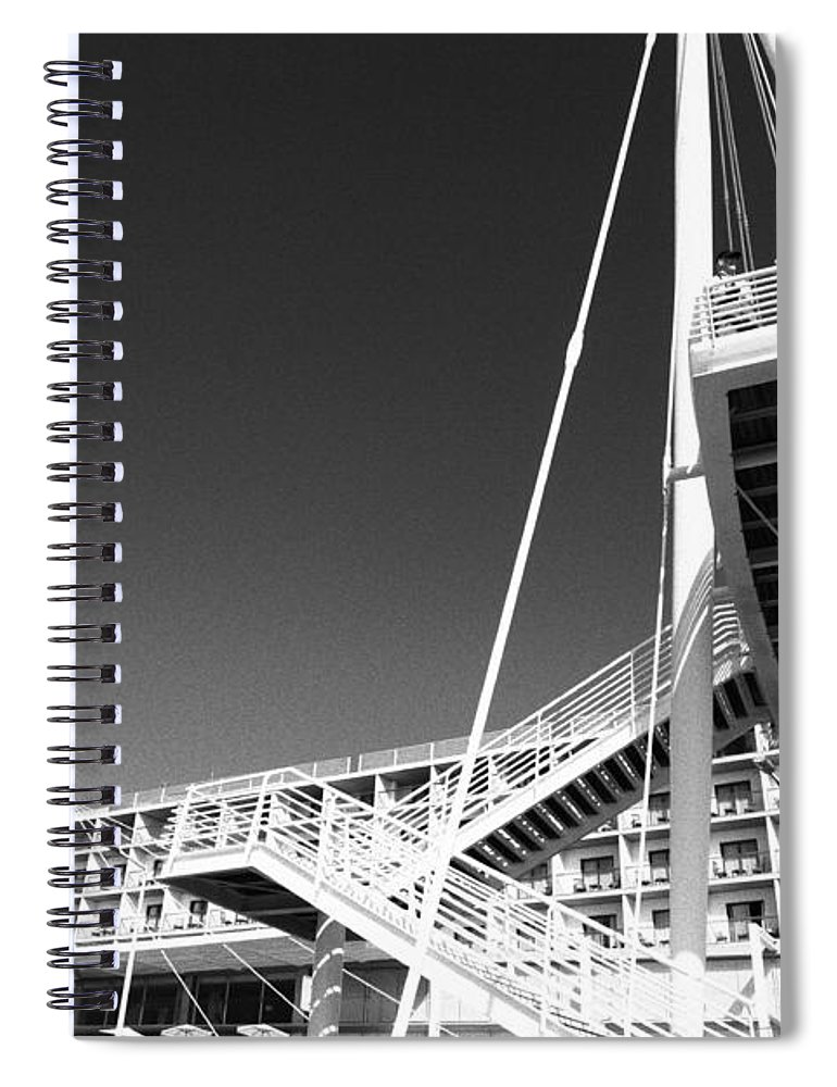Architecture Spiral Notebook featuring the photograph Architecture by Gaspar Avila