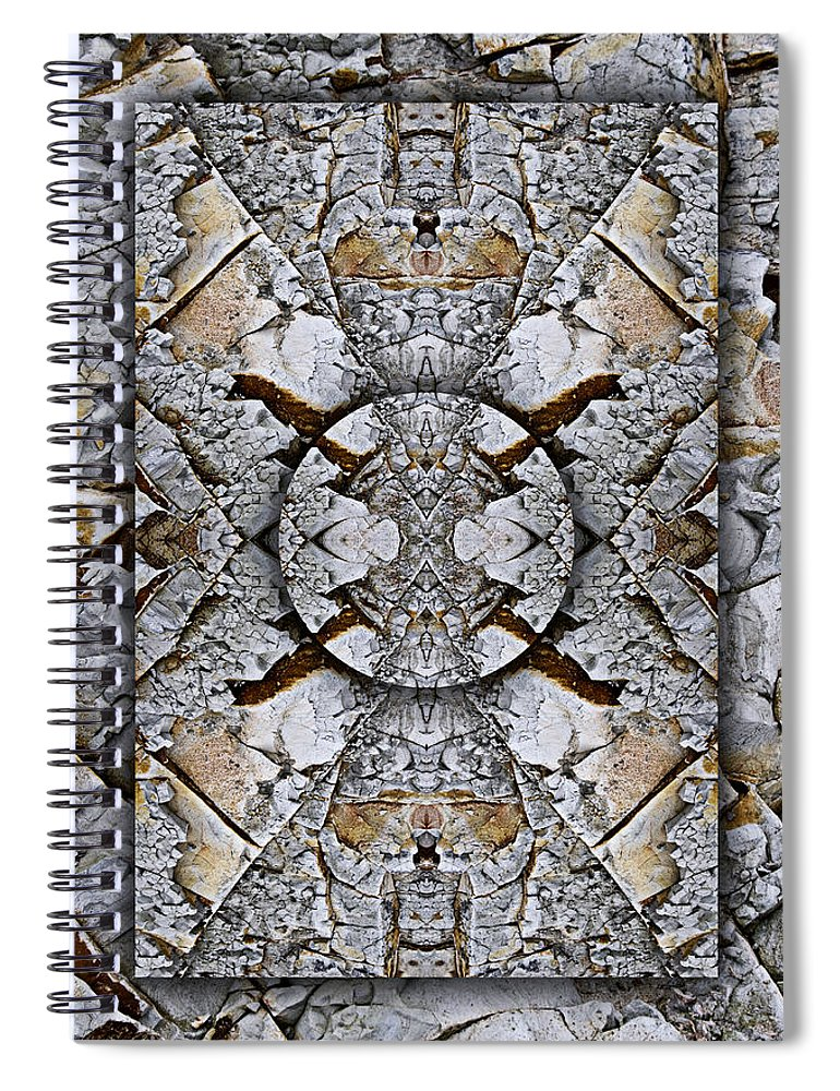 Bold Spiral Notebook featuring the photograph Between Tides Number 8 by Carol Leigh