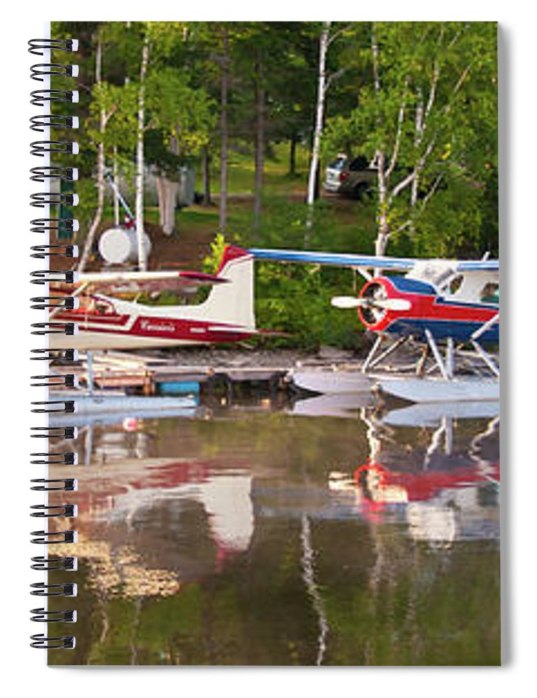 Greenville Spiral Notebook featuring the photograph Curriers by Guy Whiteley