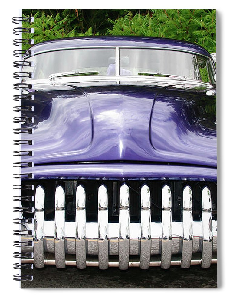 Automobile Spiral Notebook featuring the photograph Lead Sled  7768a by Guy Whiteley
