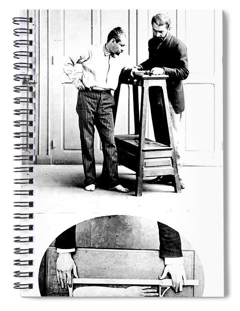 Measurement Of The Cubit, Bertillon Spiral Notebook