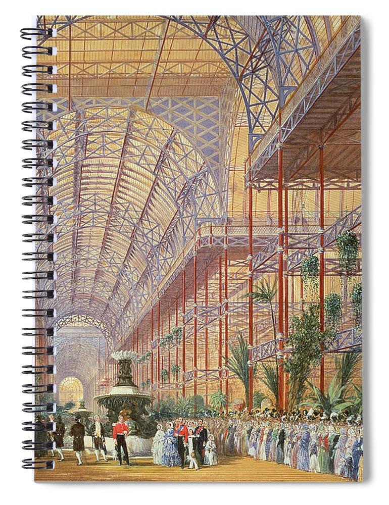 Queen Victoria illustration notebook