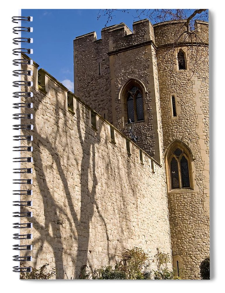 Europe Spiral Notebook featuring the photograph Salt Tower by Mary Lane
