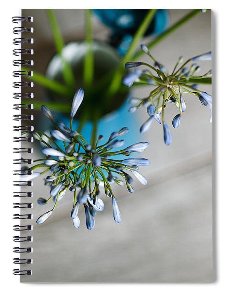 Still Spiral Notebook featuring the photograph Still Life 04 by Nailia Schwarz