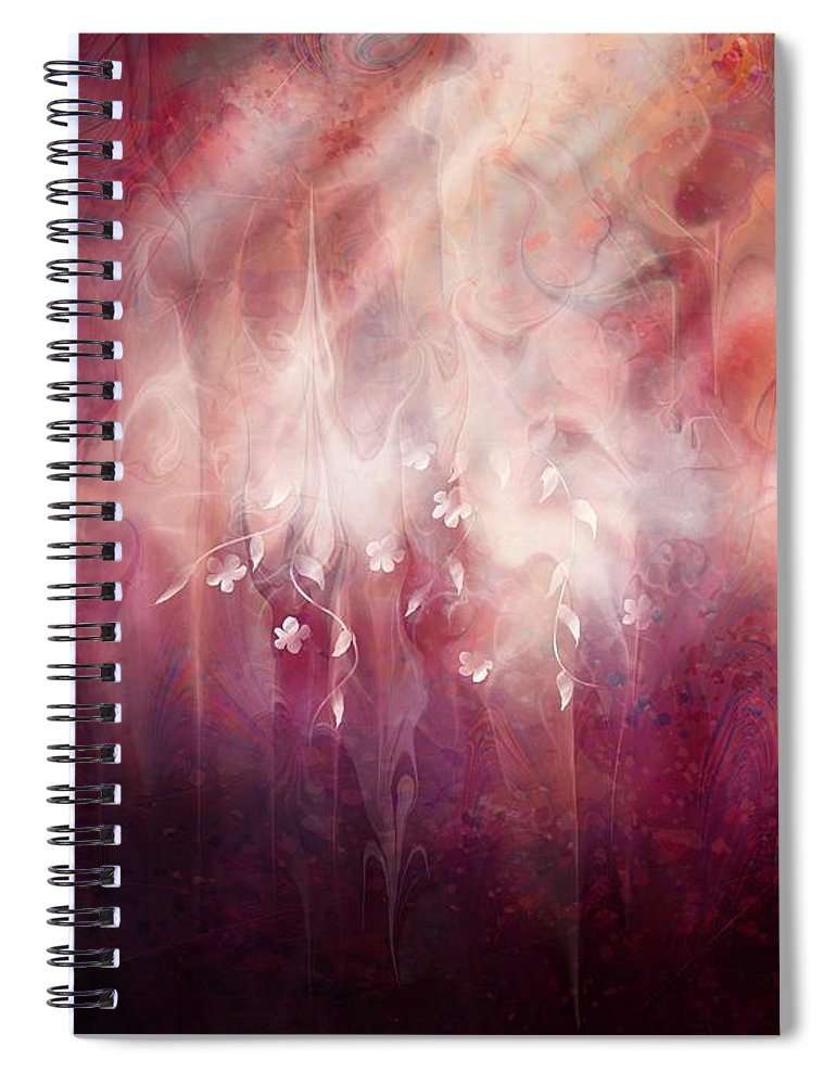 Landscape Spiral Notebook featuring the digital art Weight of Glory by William Russell Nowicki