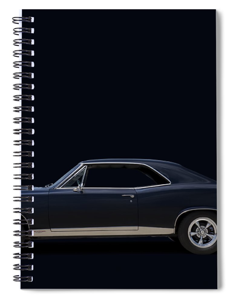 Transportation Spiral Notebook featuring the digital art 67 Gto by Douglas Pittman