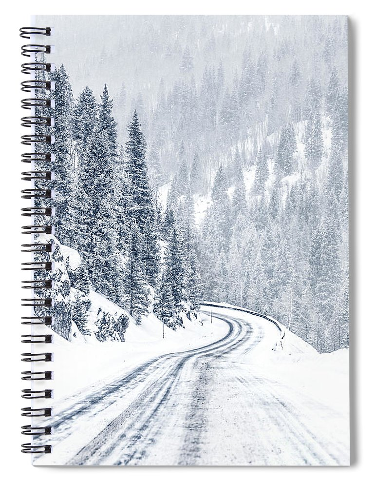 Kremsdorf Spiral Notebook featuring the photograph As Far As Dreams Can Go by Evelina Kremsdorf