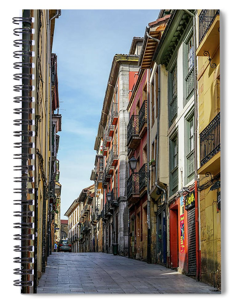 Spain Spiral Notebook featuring the photograph Historic Downtown 1 by Ric Schafer