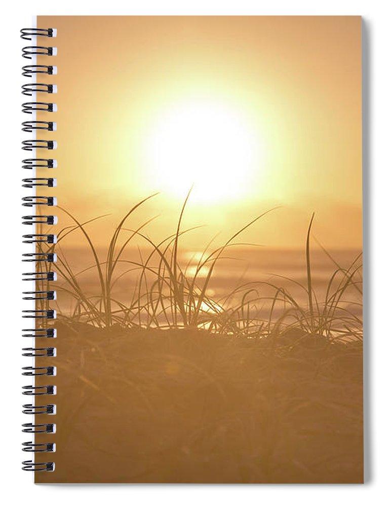 Australia Spiral Notebook featuring the photograph Morning Sun by Az Jackson